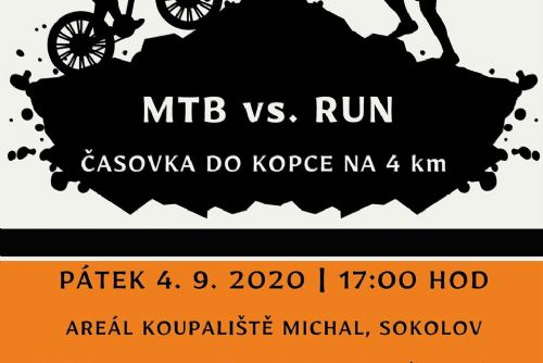 Foto: Sokolov: Časovka do kopce MTB vs. RUN